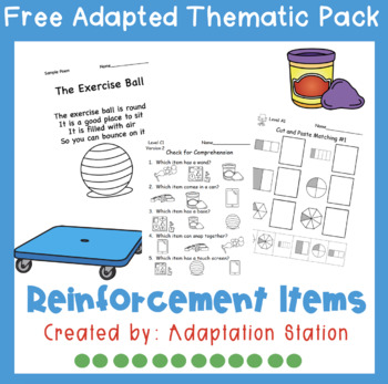 Weekly Thematic Pack: Reinforcement Sampler Pack