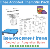 Adapted Thematic Pack: Reinforcement Free Pack