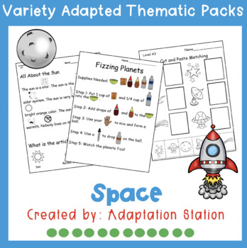 Weekly Thematic Pack: Space Theme Pre-Sale