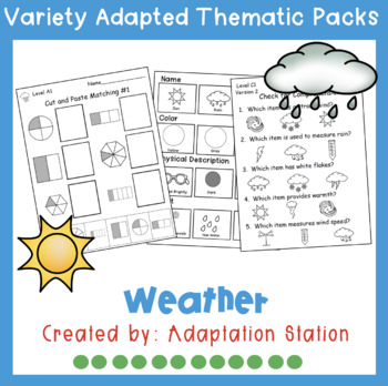 Weekly Thematic Pack: Weather