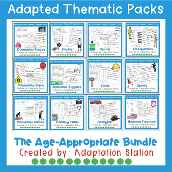 Weekly Thematic Packs: Age Appropriate Themes Mini Bundle PRE-SALE