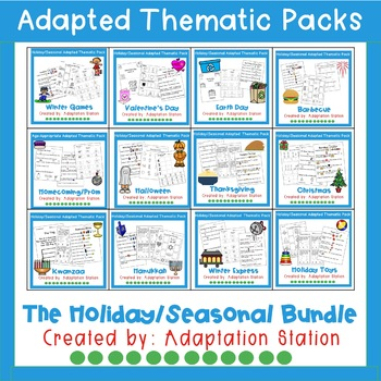 Weekly Thematic Packs: Holiday/Seasonal Mini Bundle