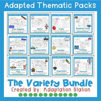 Weekly Thematic Packs: Variety Pack Mini Bundle