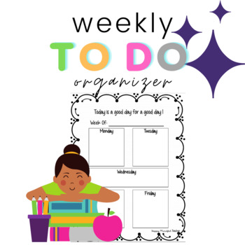 Weekly To Do Organizer