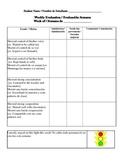 Weekly Traffic Light Behavior Report
