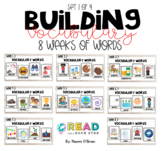 Weekly Vocabulary Words Set 1 of 4