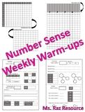 Weekly Warm Up - Number Sense