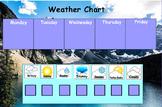 Weekly Weather Chart Promethean Flip Chart