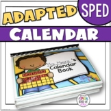 Adapted Calendar for SPED students