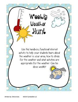 Weekly Weather Hunt