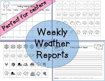 Weekly Weather Reports