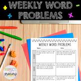 Weekly Word Problems - 17 weeks