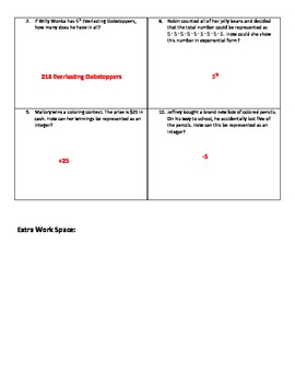 Weekly Word Problems #2 (Old TEKS)