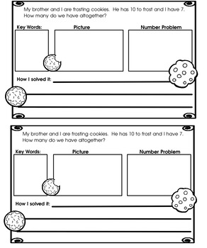 Weekly Word Problems Common Core Differentiated Math Journals