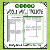 Weekly Word Problems March