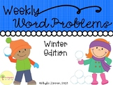 Weekly Word Problems - Winter Edition