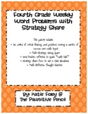 Weekly Word Problems with Strategy Share