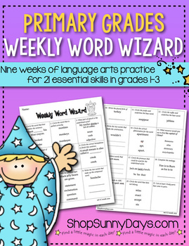 Weekly Word Wizard - Set Two