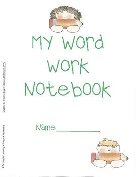Weekly Word Work Notebook