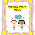 Weekly Word Work Packets