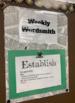 Weekly Wordsmith / Word of the Week (20 Rhetorical Verbs, 20 Tone Words)