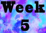 Weekly Work Display