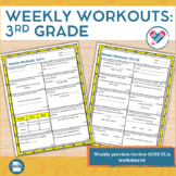 Weekly Workouts Language Arts 3rd Grade Preview/Review Weekly Activities