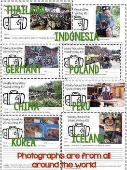 Weekly Writing Around the World
