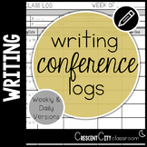 Writing Conference Logs