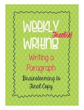 Weekly Writing - Presents - Week One - Freebie!