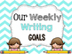 Weekly Writing Goals