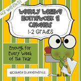 Paragraph Writing Practice for Every Week of the Year Grades 1-2