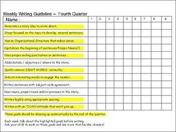 Weekly Writing Homework Portfolio #4