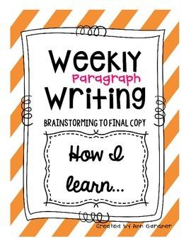 Weekly Writing - How I learn - Freebie!