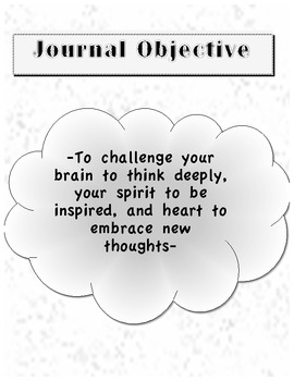 Weekly Writing Journal