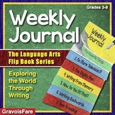 Weekly Writing Journal Activity — The Language Arts Flip Book Series