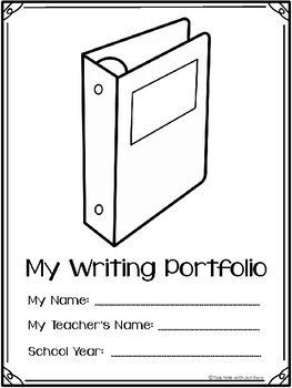 Weekly Writing Portfolio (40 Prompts) for K-4