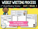 Weekly Writing Process (2nd Grade Reading Wonders) Unit 1: Week 3