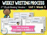 Weekly Writing Process (2nd Grade Reading Wonders) Unit 1: Week 5