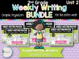 Weekly Writing Process (2nd Grade Reading Wonders) Unit 2 BUNDLE