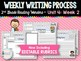 Weekly Writing Process (2nd Grade Reading Wonders) Unit 4 BUNDLE