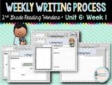 Weekly Writing Process (2nd Grade Reading Wonders) Unit 6: Week 1