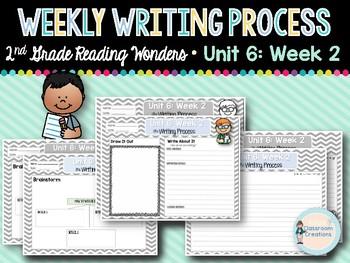 Weekly Writing Process (2nd Grade Reading Wonders) Unit 6: Week 2