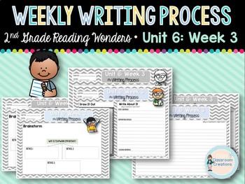 Weekly Writing Process (2nd Grade Reading Wonders) Unit 6: Week 3