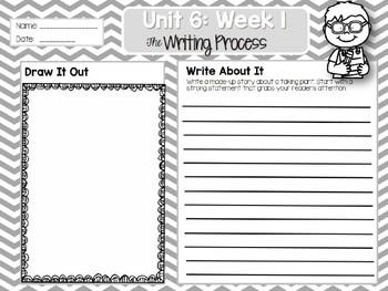 Weekly Writing Process 2nd Grade Unit 6: Week 1