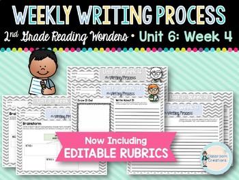Weekly Writing Process 2nd Grade Unit 6: Week 4