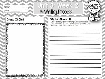 Weekly Writing Process (2nd Grade Wonders) Unit 3: Week 2