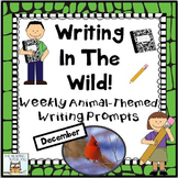 Literacy Centers: December | Animal Picture Prompts Writin