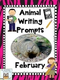 Literacy Centers: February | Animal Picture Writing Prompt