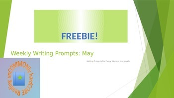 Weekly Writing Prompts: May